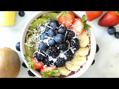 How to Make an Acai Bowl by Cooking with Manuela