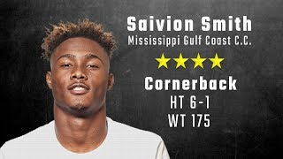 Saivion Smith highlights | Alabama CB signee from Mississippi Gulf Coast CC & IMG Academy