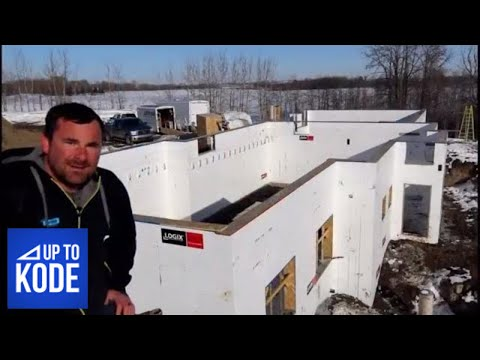 ICF to the Roof : The ONLY Wall System That is Self Supporting