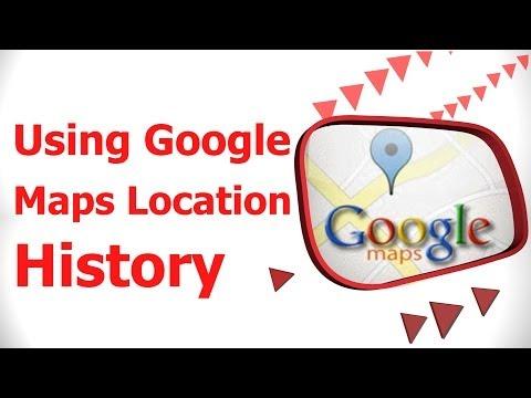 Using Google Maps Location History