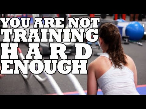 You are NOT Exercising Hard Enough! | Workout Motivation