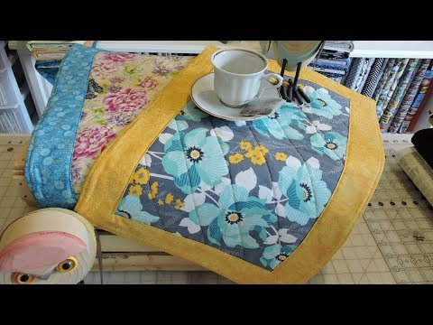 15 Minute Placemat Tutorial | Miter Corners