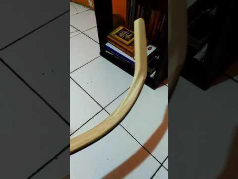 Horn bow experimen