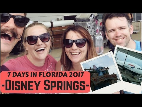Seven Days in Florida   Walt Disney World DISNEY SPRINGS & flight home   May 2017   Krispysmore