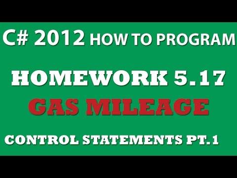 5-17 C# Gas Mileage