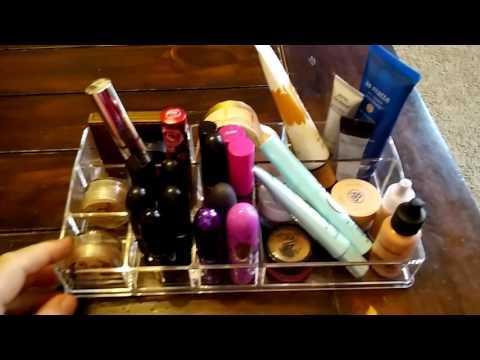 MelodySusie Acrylic Makeup Organizer Review