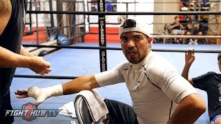 """VICTOR ORTIZ """"THAT WAS A PILE OF SHIT..HORSE SHIT!"""" SLAMS PACQUIAO HORN DECISION"""