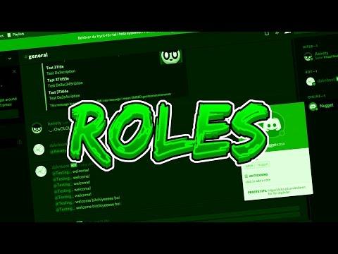 ROLES | Discord Bot Coding Tutorial #4 (Node JS & Discord JS)
