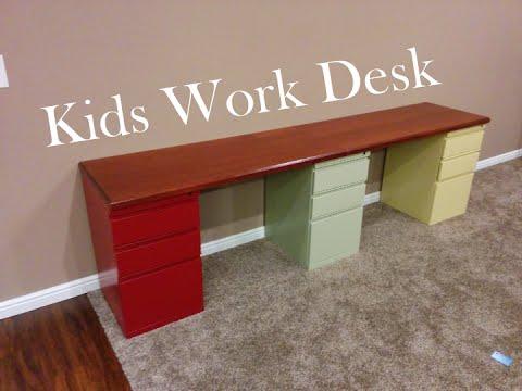 Kids Work Desk
