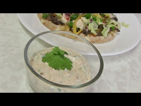 Eggless Southwest Dressing Recipe Video by Bhavna
