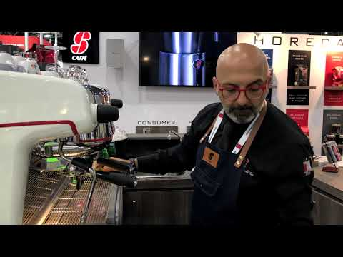Essse Caffe in FHA Singapore 2018 (together with Malaysia Barista)