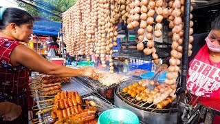 Download Street Food in Thailand - NIGHT MARKET Thai Food in Chiang Mai, Thailand! Video