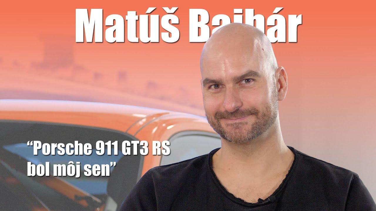 Matúš Bajbár: neveril som, že raz budem mať Porsche - volant.tv štúdio
