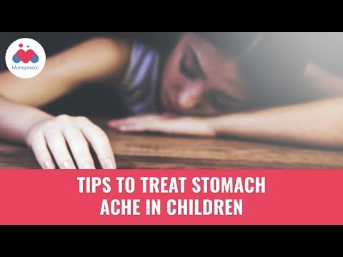 How To Treat Kids Stomach Ache