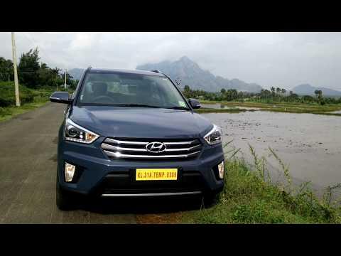 Hyundai Creta 2017  SX  (O) 1.6 CRDI Mystic Blue