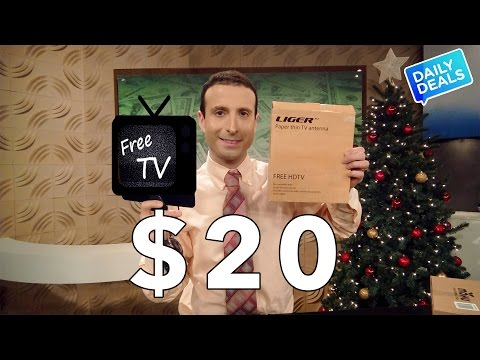 $20 Best TV Antenna, Cut The Cable Cord Free HDTV ► The Deal Guy