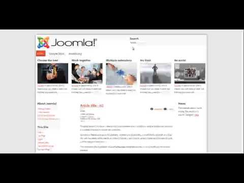 Template Creator CK 3 - Overview, simple demo, create your Joomla template in 7minutes