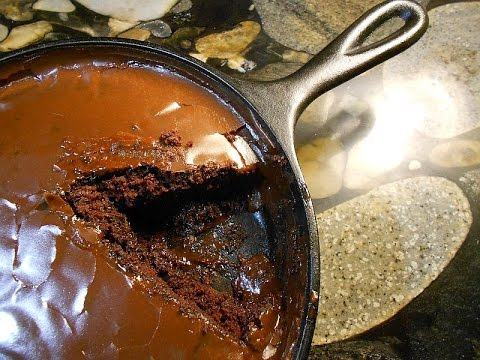 Awesome Chocolate Cast Iron Skillet Cake