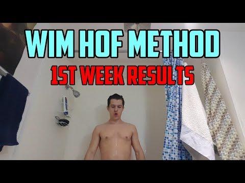 Wim Hof Method (1 Week Results)
