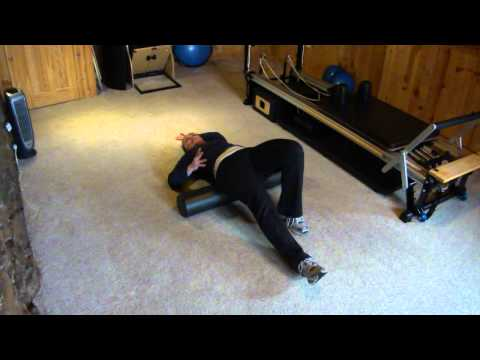 Foam Roller to Stretch Psoas