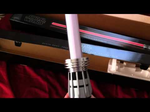 Darth Maul Dual Blade removable Hasbro Force FX LightSaber Review and Unboxing.