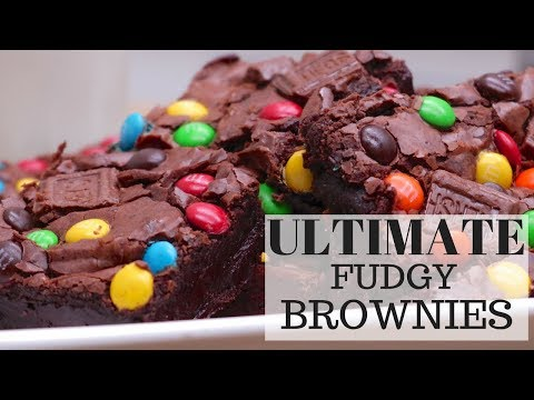 How To Make Ultimate Gooey Fudgy Brownies
