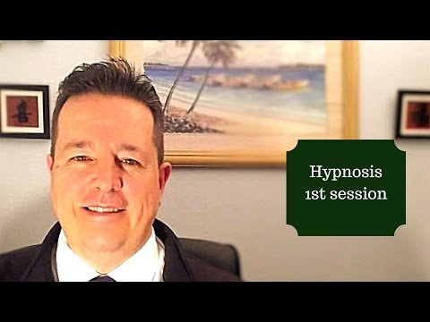 Hypnosis 1st session