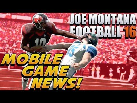 Joe Montana Football 16 Is A MOBILE GAME Reaction