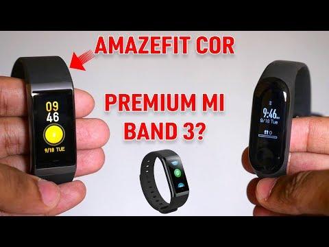 Amazfit Cor Unboxing & features overview!