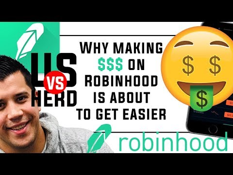 Why Making Money On Robinhood App Is About To Get Easier