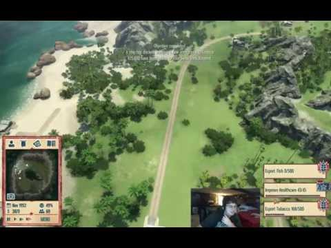 Tropico 4 Ep. 1 - A Simple Start for El Presidente!