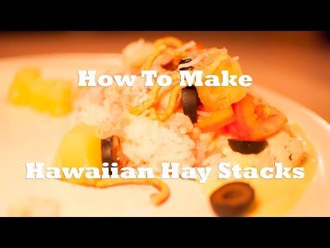 How To Make Hawaiian Hay Stacks (Simple Recipe)