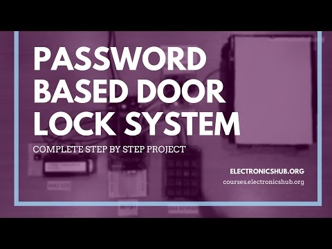 Password Based Door Lock System