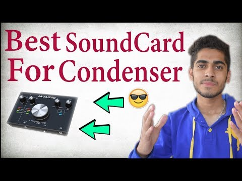 Best SoundCard For Condenser Microphone! Full Review (M audio 2x2)
