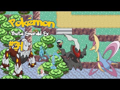 Pokémon Theta Emerald #34: Manaphy, Phione, Shaymin, Darkrai, Cresselia e Heatran
