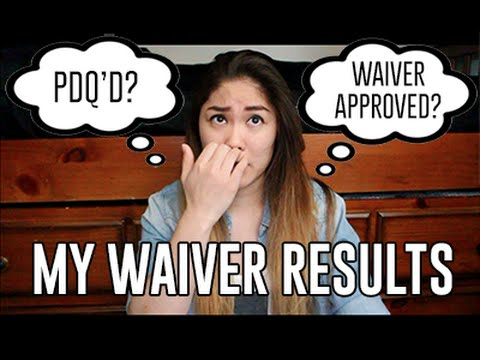 MY WAIVER RESULTS // Air Force Vlog #7