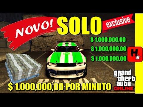 💲NOVO!💲GLITCH DUPLICAR CARROS SOLO GTA 5💲DINHEIRO INFINITO!💲FAÇA MILHÕES AGORA!💲GTA V Money Glitch💲