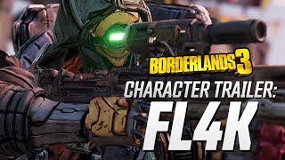 """Borderlands 3 - FL4K Character Trailer: """"The Hunt"""""""