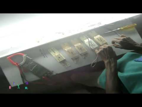 how to check tube light and choke and starter