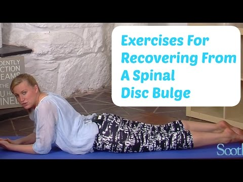 Exercises for recovering from a Spinal Disc Bulge