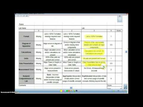 How to setup lab notebook