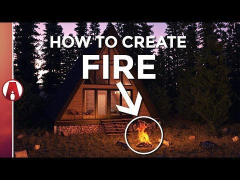 How to create REALISTIC FIRE | Vray 3.6 for Sketchup
