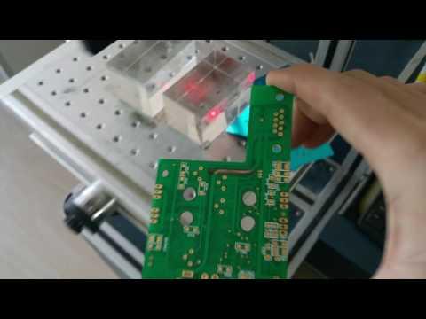 Laser cutting PCB without burn copper(Cu) under it.