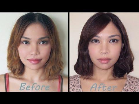 How to Dye Light Hair Dark
