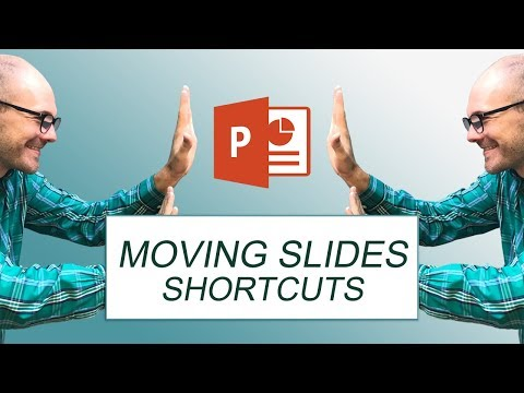 Keyboard Shortcuts to Move Slides in PowerPoint