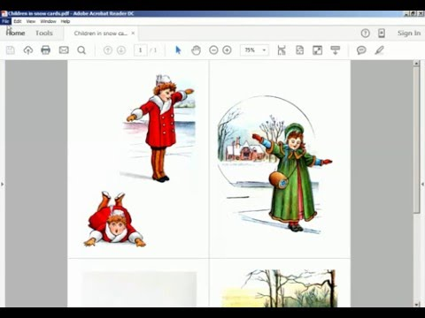 How to print collage sheet in PDF format