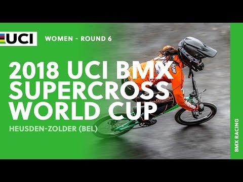 2018 UCI BMX SX World Cup - Heusden-Zolder (BEL) / Women Round 6