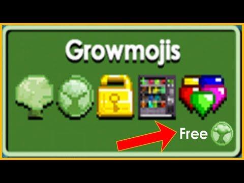How to get Free Emojis?! NEW GLITCH! | GrowTopia