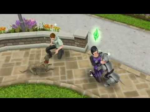 Sims FreePlay - Who Let The Dogs Out [Dogs Video]