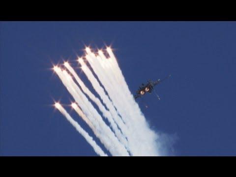 2012 Aviation Nation - F-15 Flares